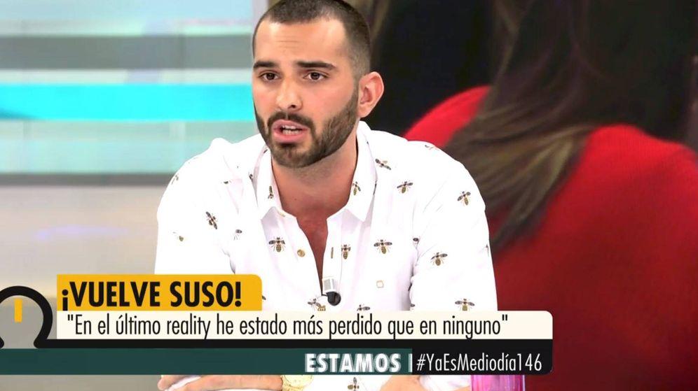 Foto: Suso en 'Ya es mediodía'. (Mediaset España)