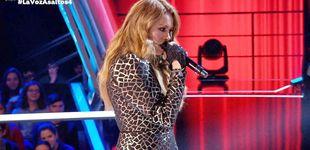 Post de El fracaso de Paulina Rubio por lucirse en 'La Voz': olvida la letra de su canción