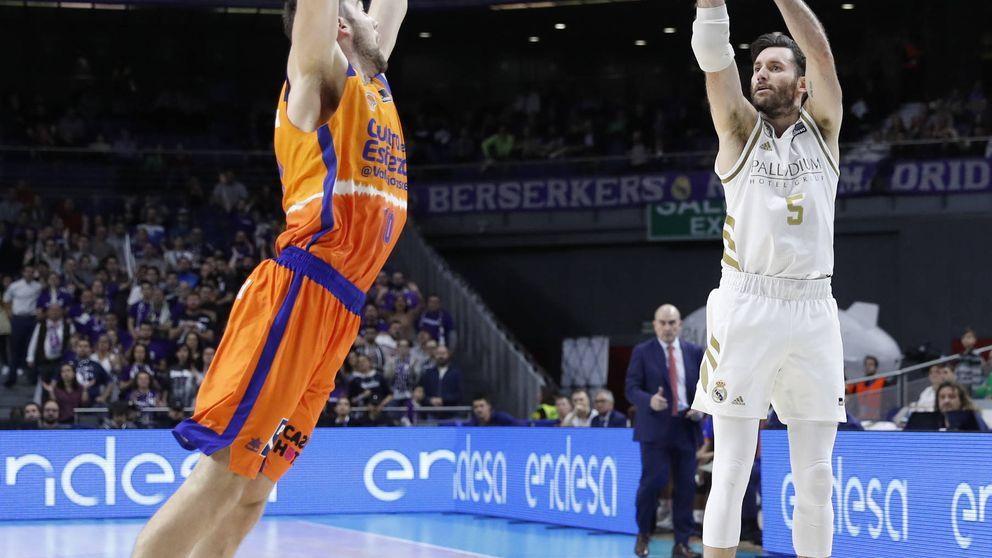 El trance de Rudy Fernández desde el triple en la victoria del Real Madrid ante el Valencia