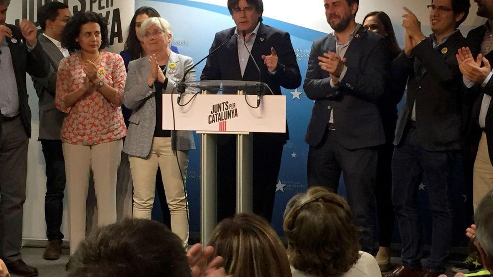 La Fiscalía, contraria a levantar la orden de detención de Puigdemont y Comín
