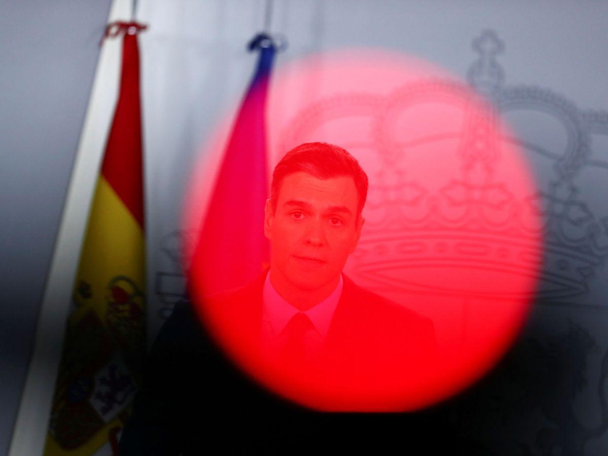 Foto: El presidente del Gobierno, Pedro Sánchez, en rueda de prensa. (Reuters)