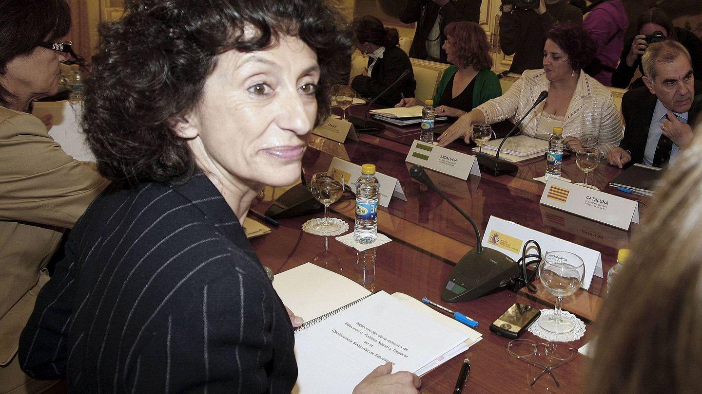 Mercedes Cabrera, la ministra de la LOE. (EFE)