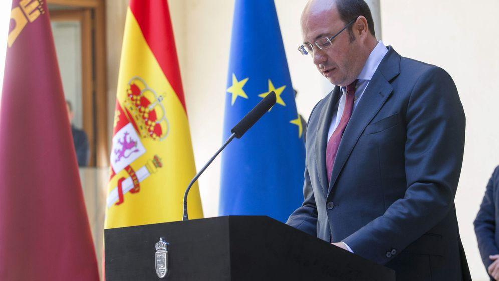 Foto: El presidente del Gobierno de Murcia, Pedro Antonio Sánchez, del PP. (EFE)