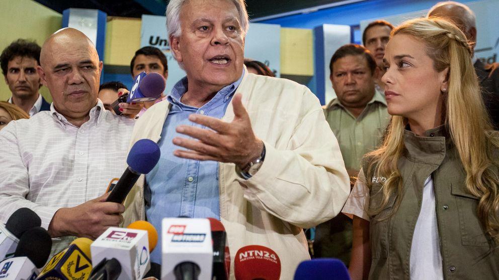 Felipe González compara a Maduro con Franco y niega haber huido de Venezuela