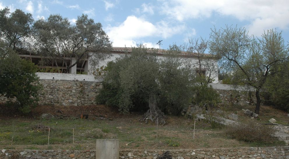 La casa de Luciano González. (EC)