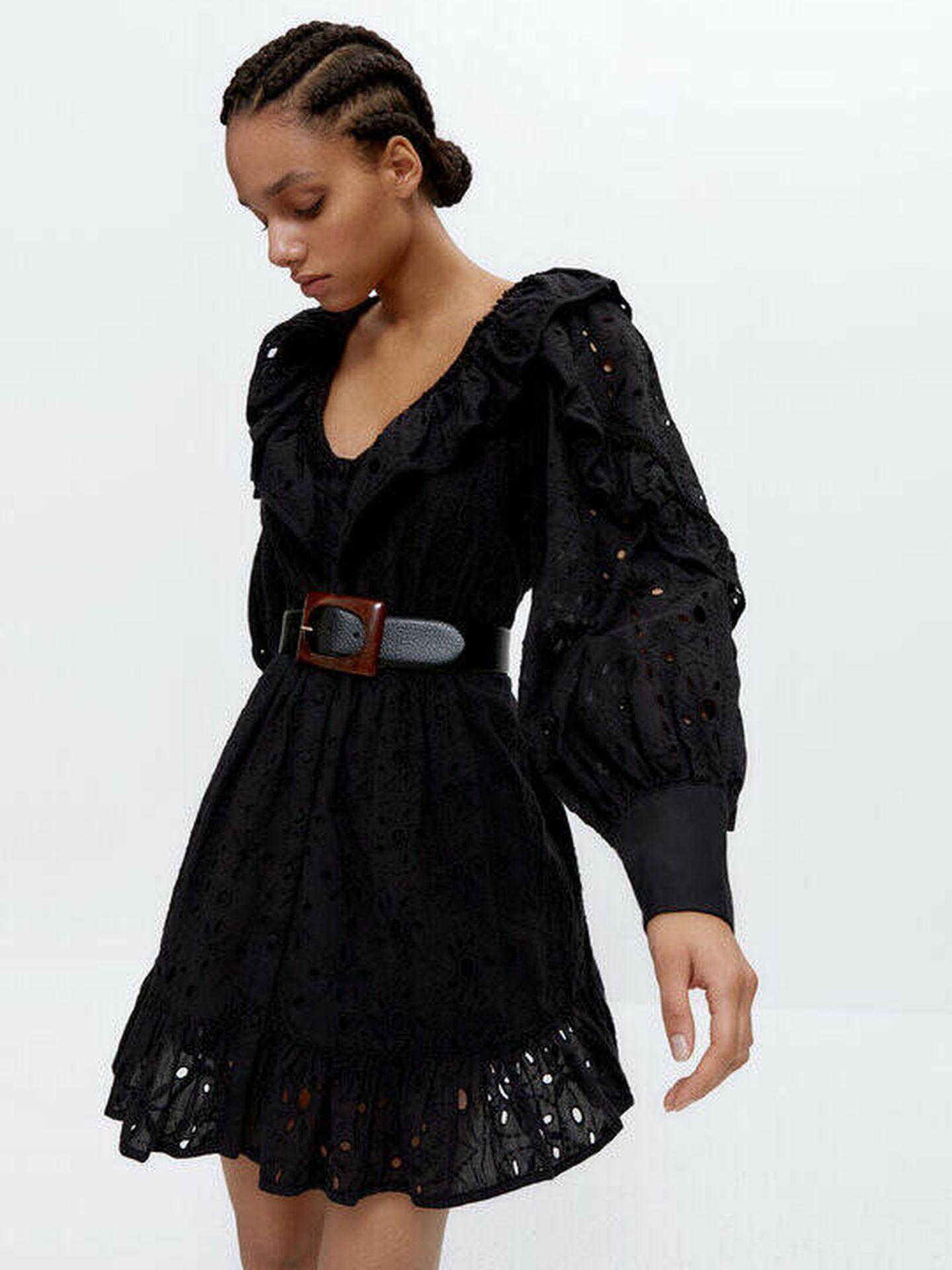 Vestido de las rebajas de Uterqüe. (Cortesía)
