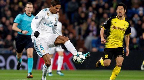 Varane se vuelve a lesionar, un drama para el Real Madrid