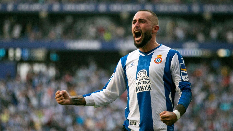 Aleix Vidal celebra el segundo gol. (EFE)