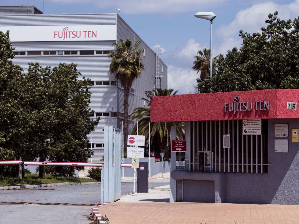 Foto: Sede de Fujitsu Ten en el polígono Guadalhorce de Málaga. (EFE)