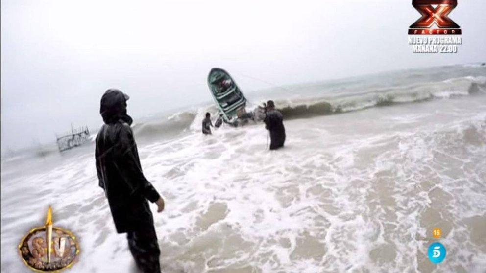 Las impactantes imágenes de la tormenta que obligó a evacuar 'SV 2018'