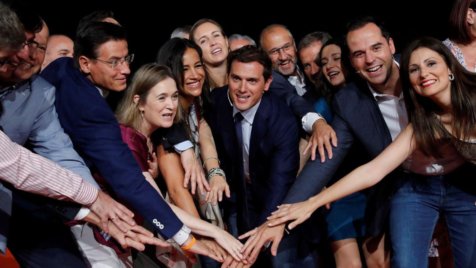 Foto: Dirigentes de Ciudadanos durante el consejo general del pasado junio. (EFE)