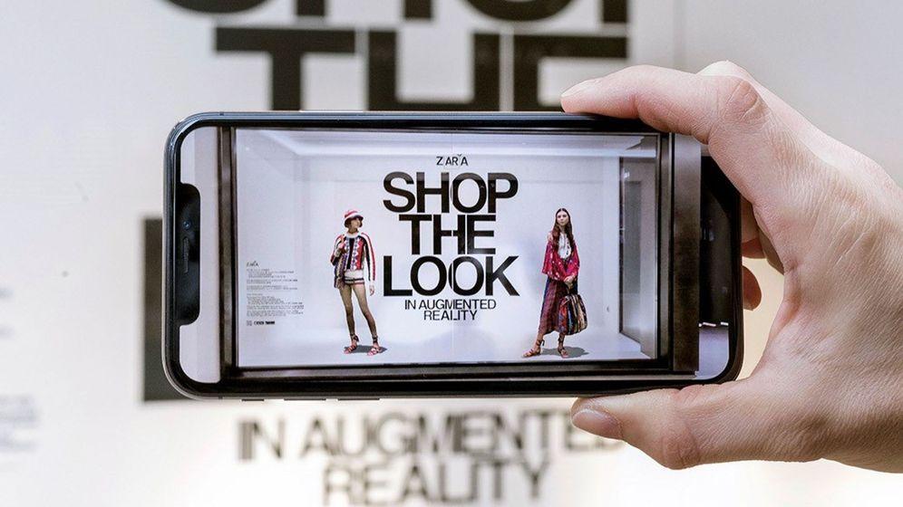 Foto: Inditex ha desarrollado una aplicación móvil de realidad aumentada que permite visualizar cómo sienta la prenda.