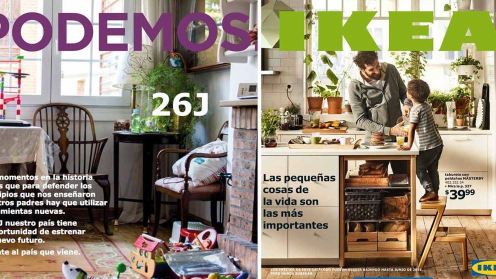 Ikea evita opinar sobre el catálogo mientras Podemos pone trabas para abrir sus tiendas