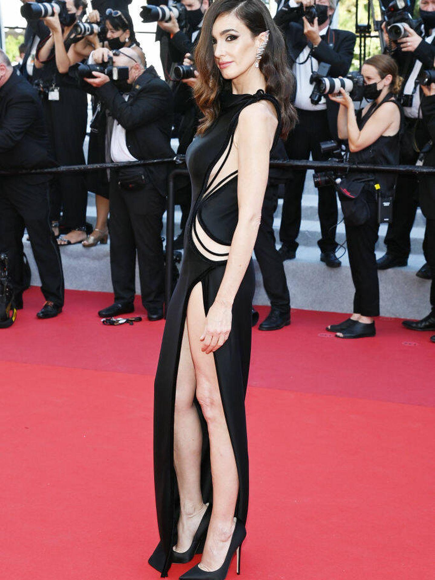 Paz Vega en el festival de Cannes. (Getty)