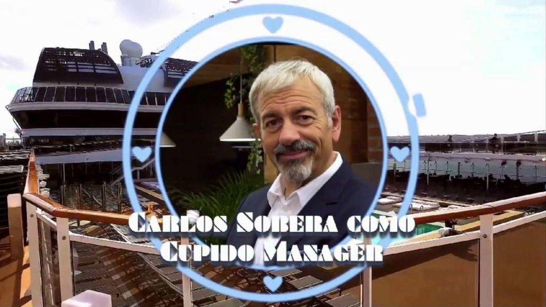 El presentador Carlos Sobera. (Captura de Mediaset)