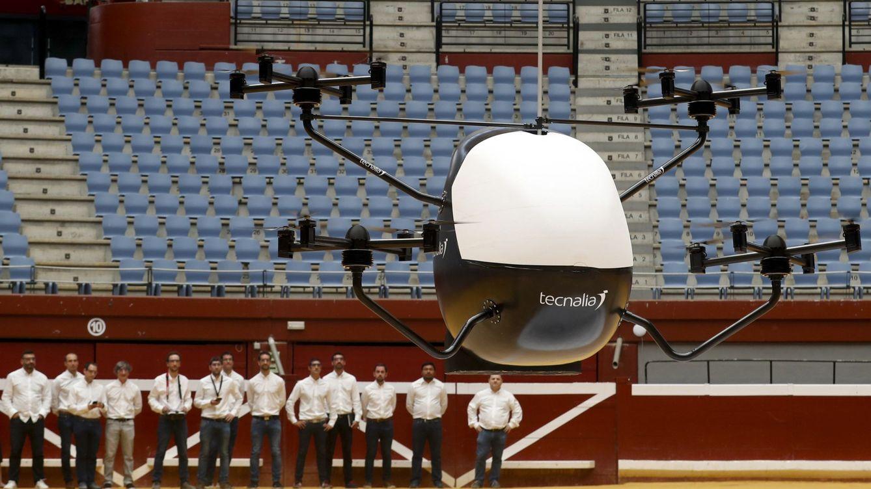 El primer taxi autónomo de España es vasco y ya vuela (15 minutos) a 90km/h