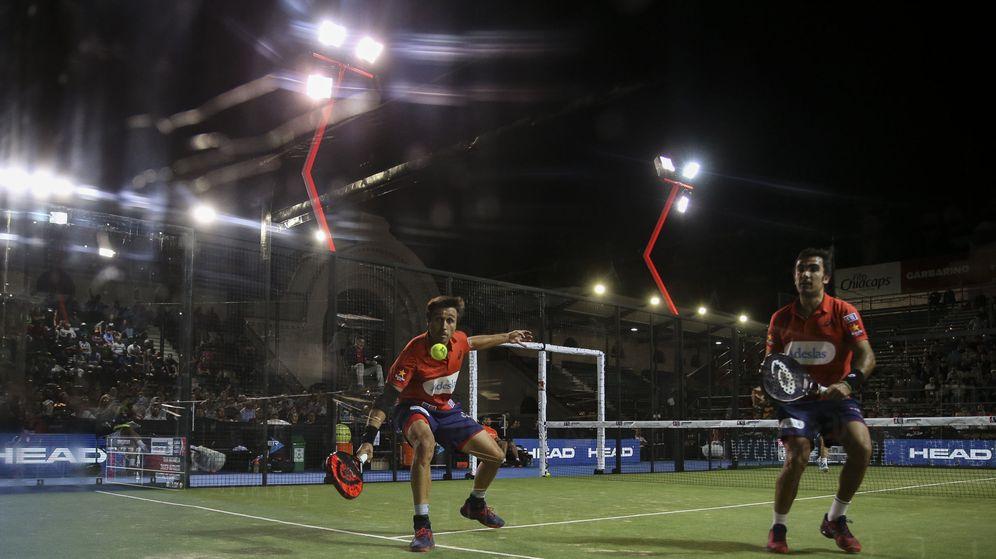 Foto: Belasteguín y Lima ya están en semifinales del Buenos Aires Padel Master. (EFE)