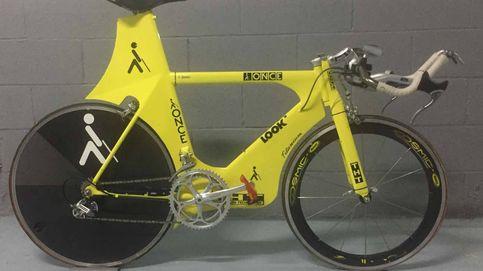 La colección de bicicletas históricas de Merckx, Pantani, Jalabert...