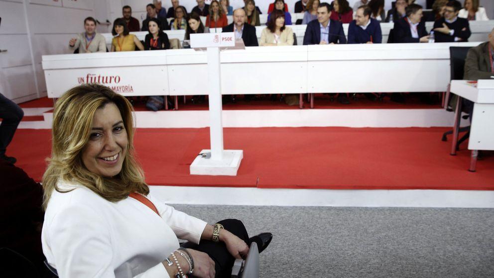 Susana Díaz alcanza el punto de no retorno para despejar su futuro político