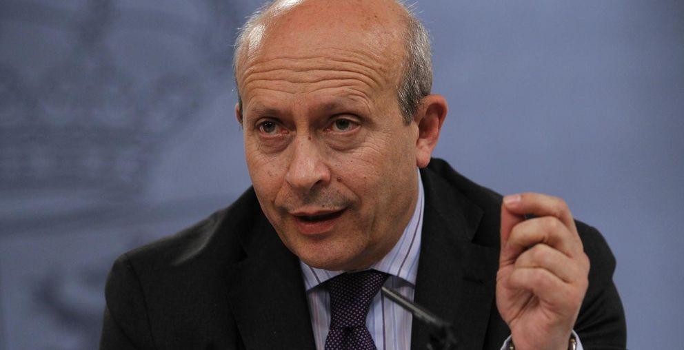 Foto: El ministro de Educación, Cultura y Deporte, José Ignacio Wert (Fotografía: Efe).