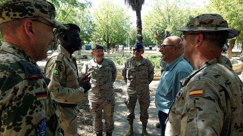 Los 200 soldados españoles en Mali elevan el nivel de alarma en pleno golpe de Estado