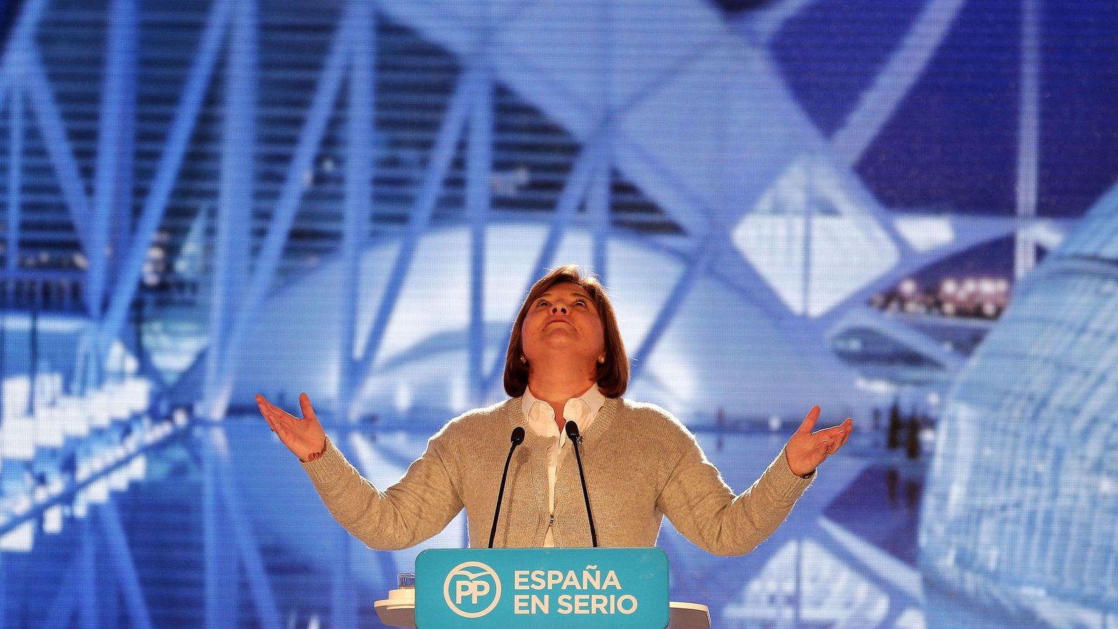 Foto: La presidenta del Partido Popular de la Comunidad Valenciana, Isabel Bonig. (EFE)
