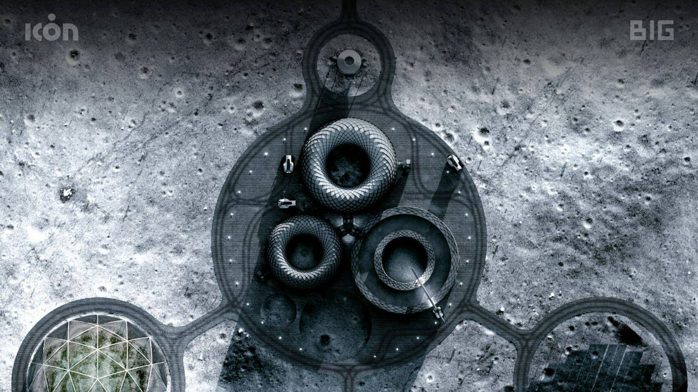 La base lunar que planea la NASA con edificios impresos en 3D. (BIG)