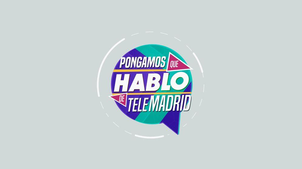 Foto: Logotipo del programa 'Pongamos que hablo de Telemadrid'. (Telemadrid)