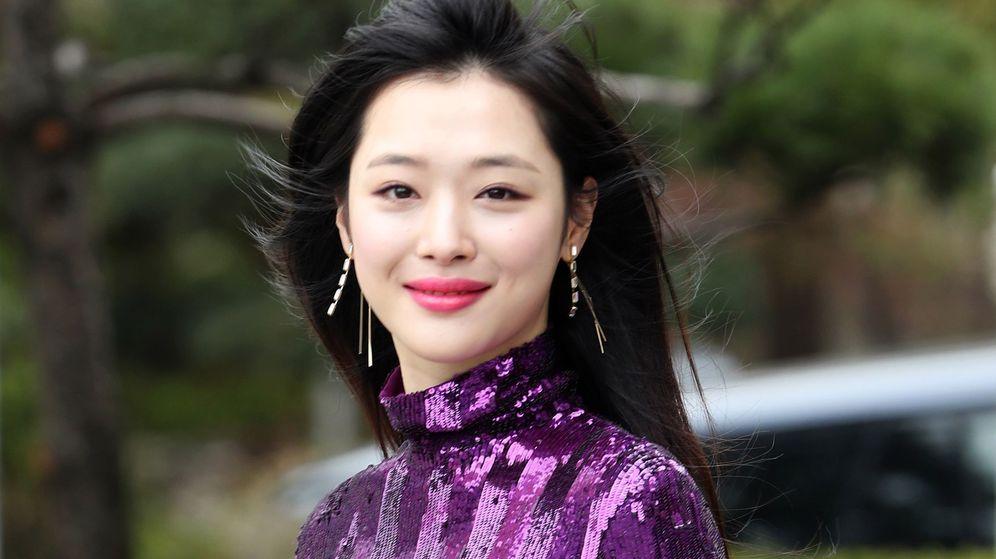 Foto: La cantante coreana Sulli. (Efe)