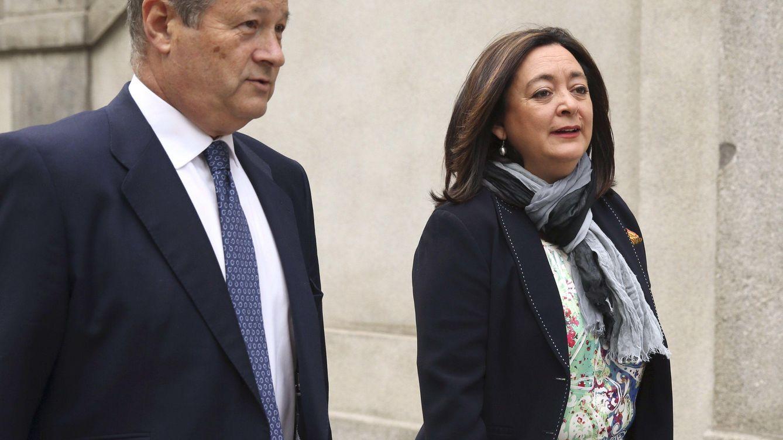 Foto: La senadora socialista y exconsejera de Presidencia de la Junta de Andalucía, Mar Moreno, a su llegada al Tribunal Supremo (EFE)