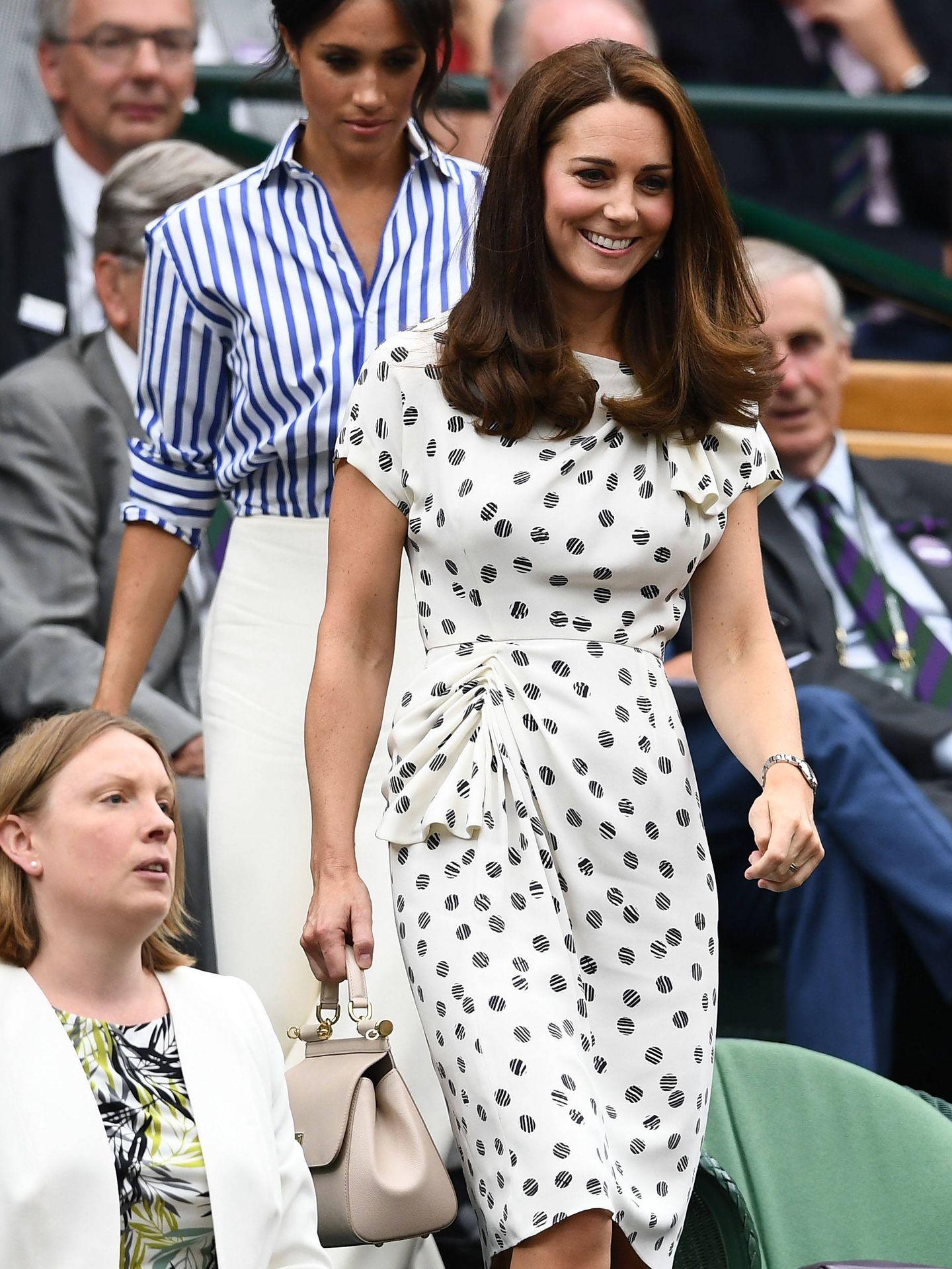 Kate Middleton, completamente recuperada tras su reciente maternidad. (Getty)