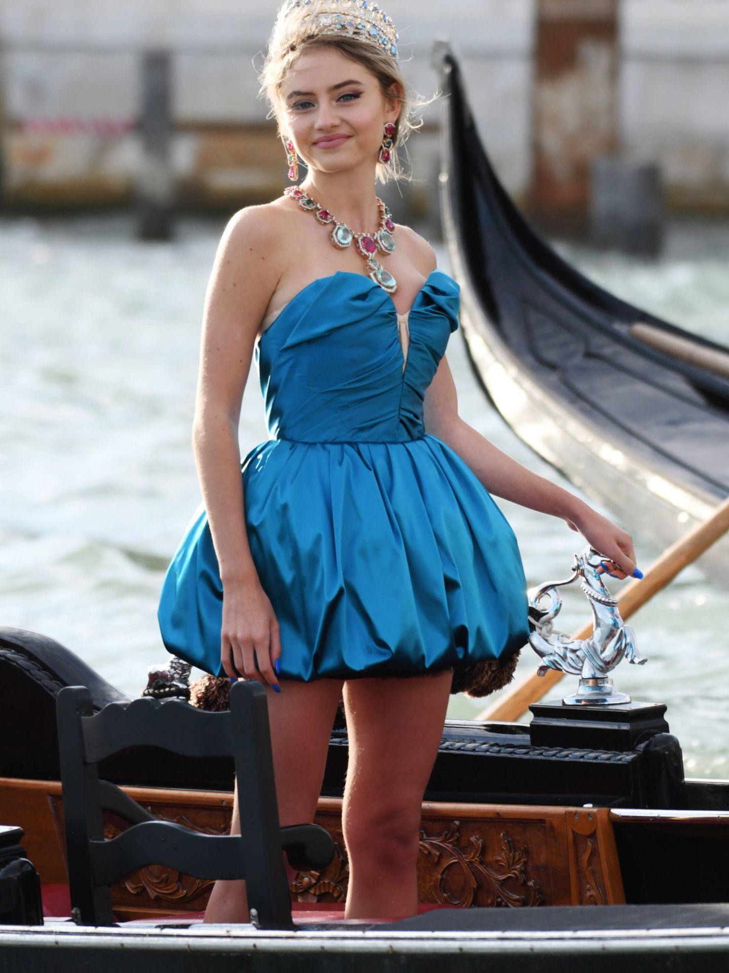 Leni Klum. (Dolce & Gabbana)