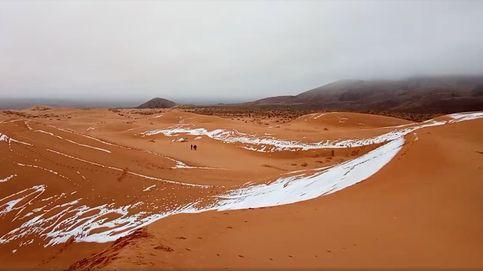 ¿Nieve en el Sáhara? Se produce la cuarta nevada en los últimos 50 años