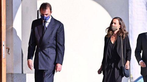 María Palacios, el gran apoyo de Alessandro Lequio, vuelve a evitar el primer plano