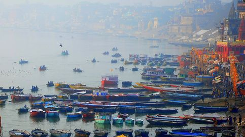 El río Ganges libera hasta 3.000 millones de microplásticos cada día al océano