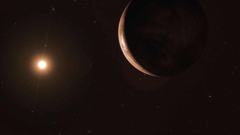 Foto: Ilustración de un exoplaneta. Foto: (EFE M. Kornmesser.)