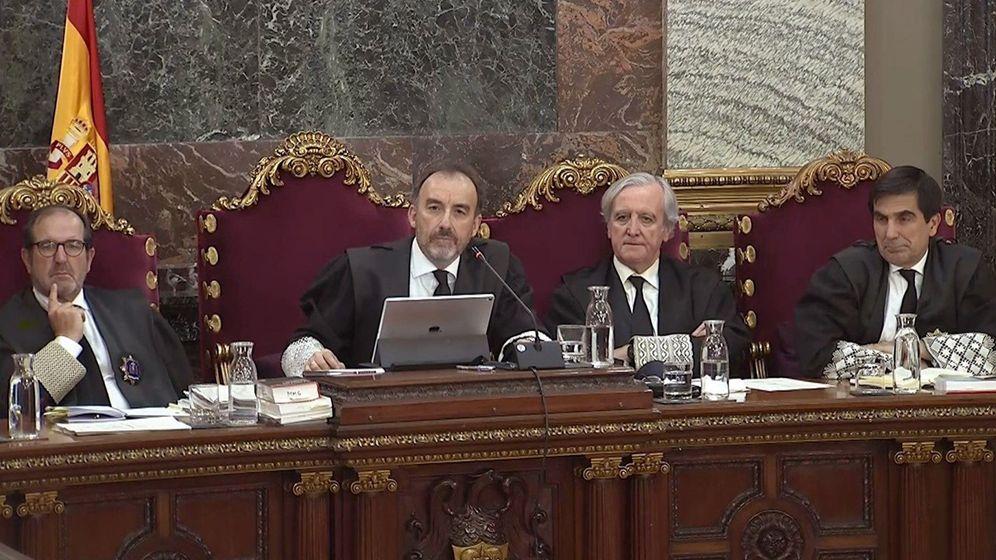 Foto: Un momento del juicio del 'procés'. (EFE)