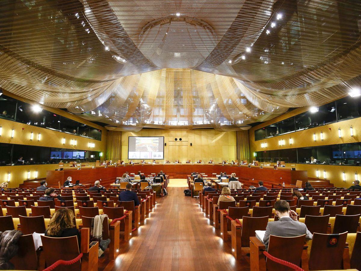 Foto: Sala central del Tribunal de Justicia de la Unión Europea en Luxemburgo. (EFE)