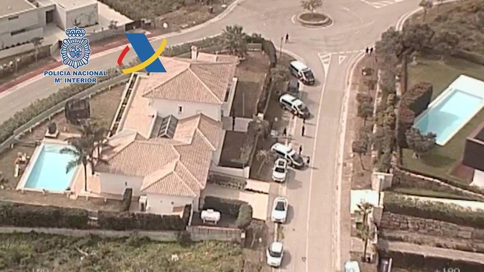 Foto: Casa en la que vivía y en la que se ha producido la detención.