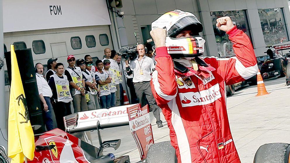 Vettel: Me iba cag... en la últimas vueltas: esto es rojo, vas a ganar
