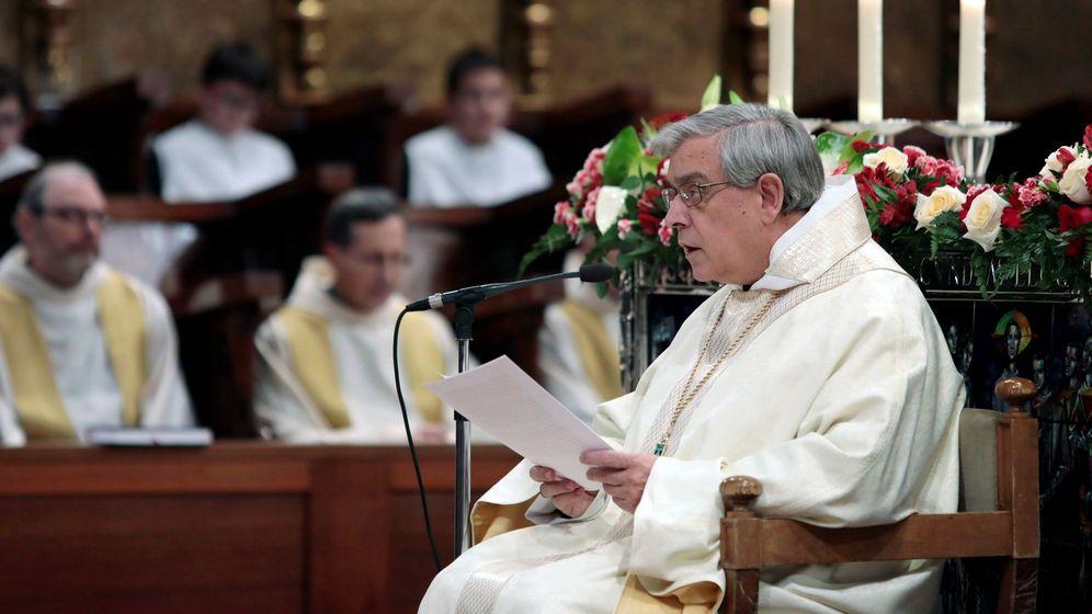 Foto: El Padre Abad de Montserrat, Josep María Soler. (EFE)
