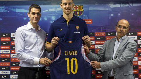 Claver se enfrenta con el Barça al Madrid, que le quería solo si era gratis