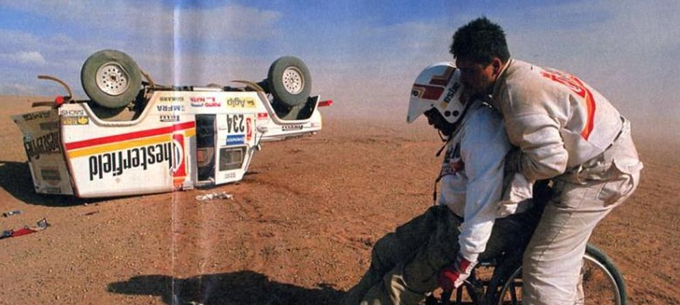 Foto: Clay Regazzoni, de Ferrari y la Fórmula 1 al Dakar en silla de ruedas