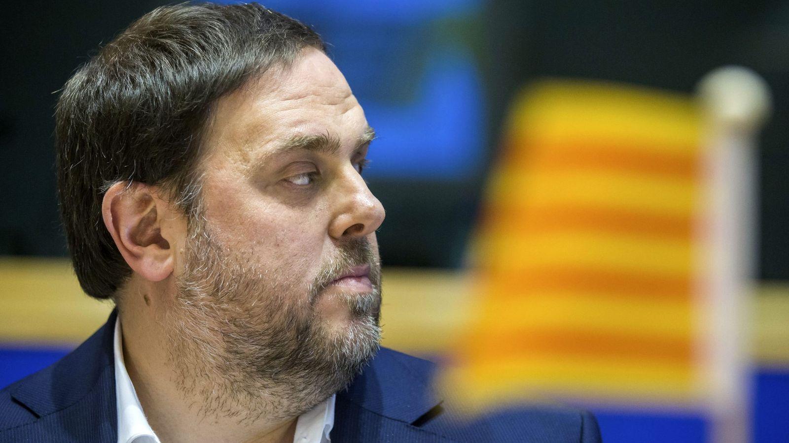 Foto: Oriol Junqueras niega las declaraciones del exsenador Santiago Vidal (Efe).