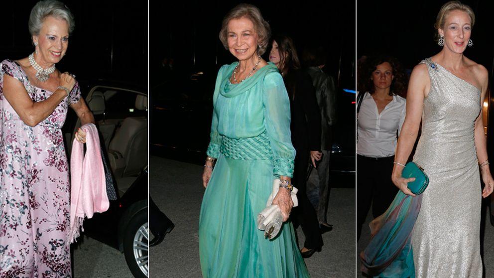 Dos familiares de Corinna cenan en Grecia con la Reina Doña Sofía