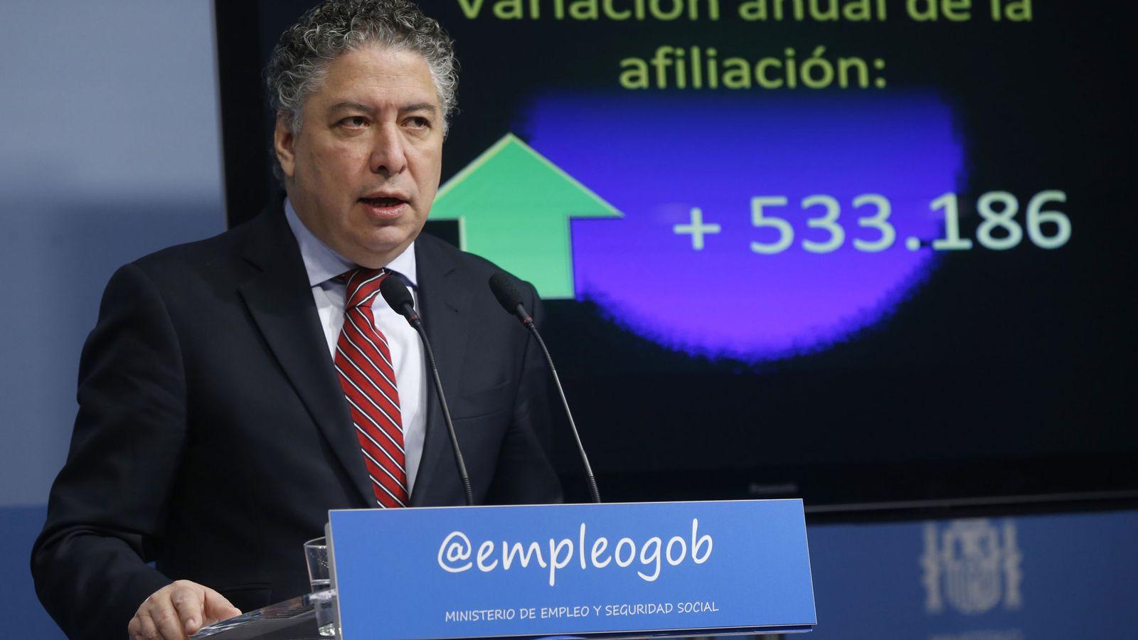 Foto: Tomás Burgos, secretario de Estado de la Seguridad Social. (EFE)