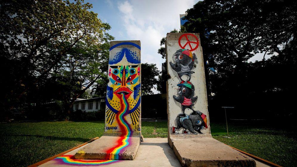 Foto: Fragmento del muro de Berlín. (EFE)