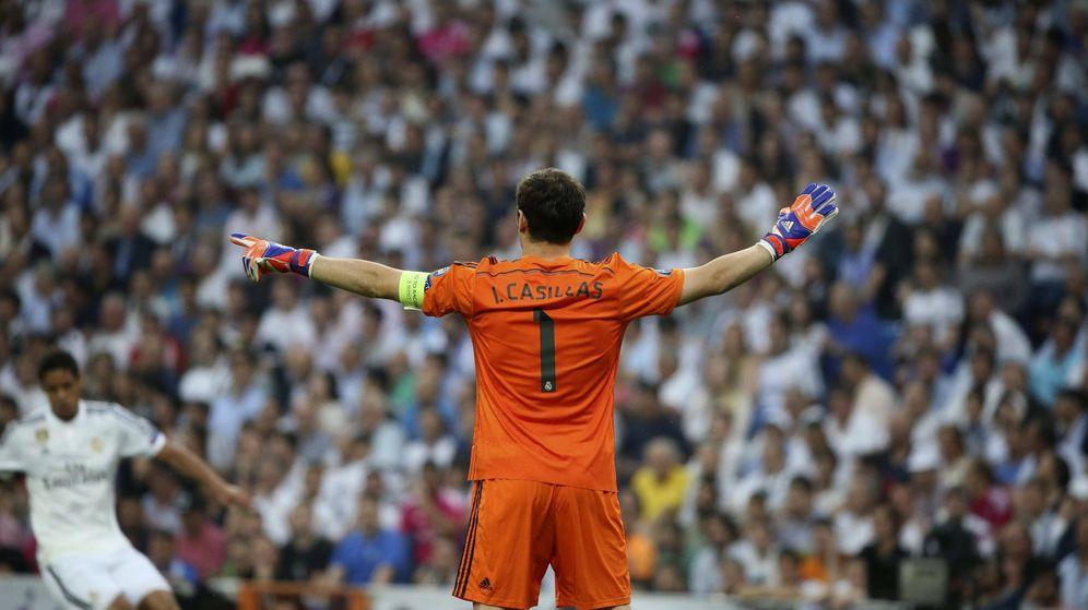 Foto: Iker Casillas en su último partido de Champions con el Madrid, ante la Juve.