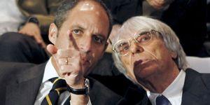 Foto: Barberá está convencida de que Ecclestone seguirá apostando por Valencia