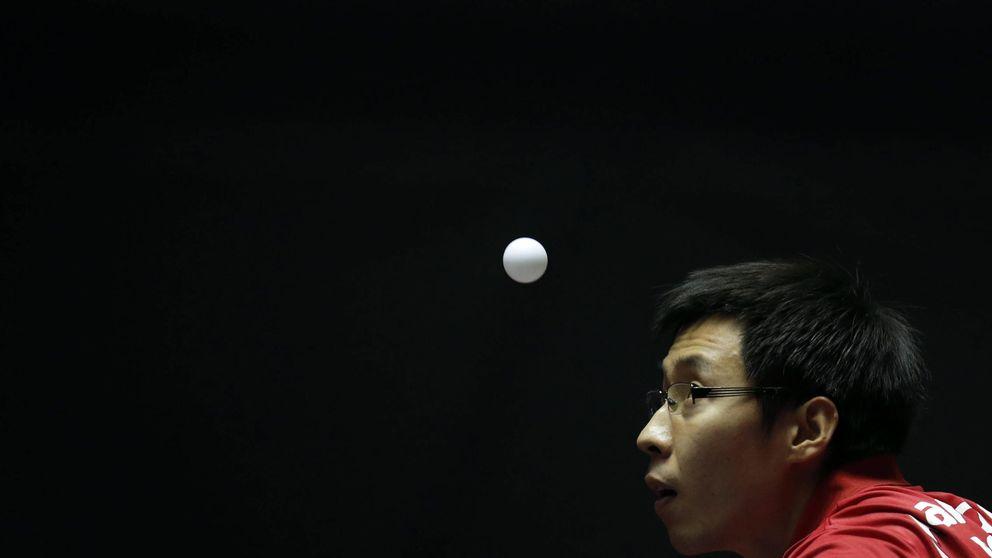 El tenis de mesa español se enfunda la camiseta del Atlético en China